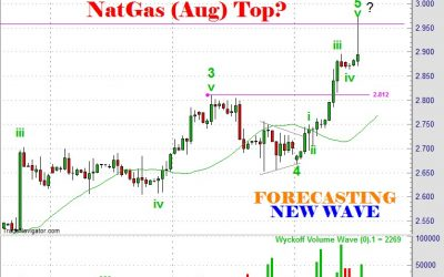 Textbook Elliott Wave Rally In Natural Gas June28 2016 by Ron Feinstein New Wave Forecasting